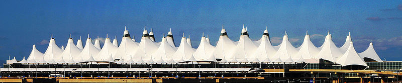 800px dia airport roof Sinister Sites   The Denver International Airport