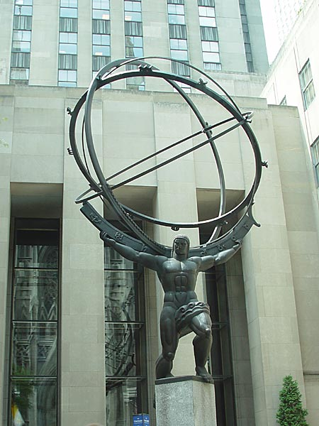 atlas 1a Sinister Sites   Rockefeller Center