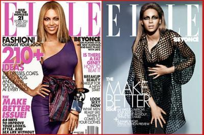 Good Beyonce vs disturbing looking Sasha Fierce