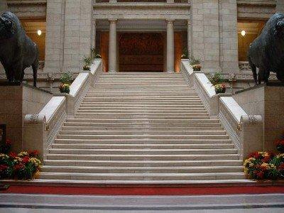 Sinister Sites - The Manitoba Legislative Building