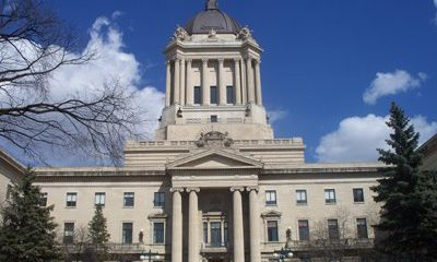 Sinister Sites - The Manitoba Legislative Building