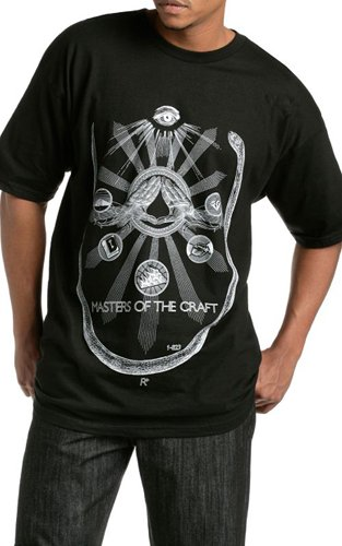 """Masters of the Craft "" t-shirt from Rocawear."