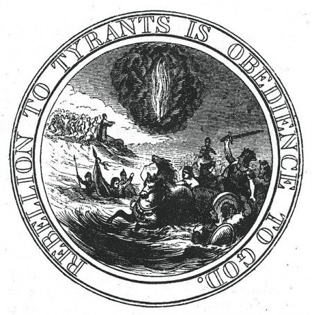 595px FirstCommitteeGreatSealReverseLossingDrawing1 The Jewish Influence on the Great Seal of the U.S.A.