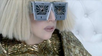 gaagsun1 Lady Gagas Bad Romance   The Occult Meaning