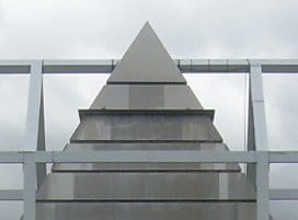 Sinister Sites - Illuminati Pyramid in Blagnac, France