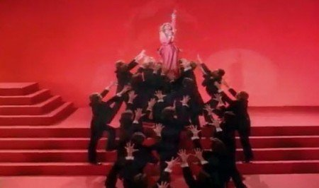 """madonna metro e1288065807516 The Occult Symbolism of Movie """"Metropolis"""" and its Importance in Pop Culture"""