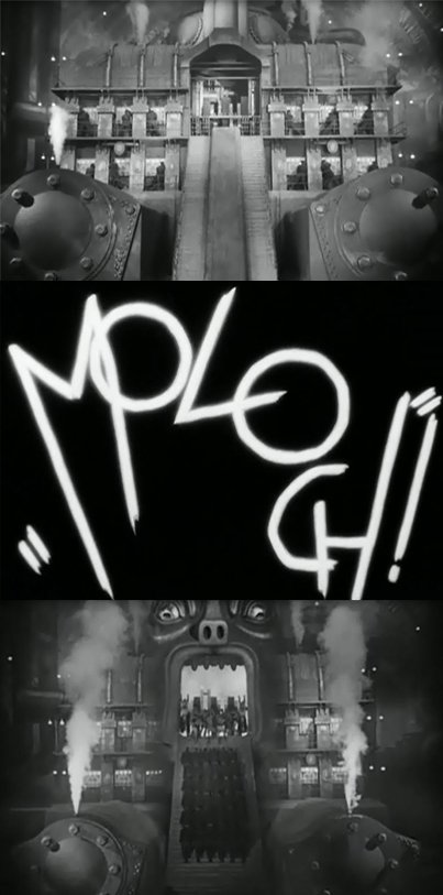 """moloch The Occult Symbolism of Movie """"Metropolis"""" and its Importance in Pop Culture"""