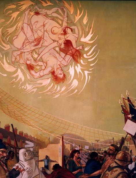 The Occult Symbolism Found on the Bank of America Murals