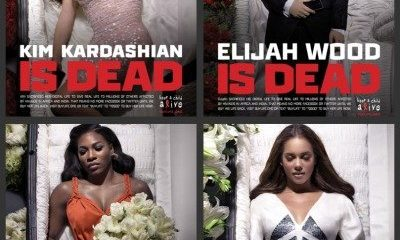 "Pop Artists Featured in Creepy ""Digital Death"" Campaign"
