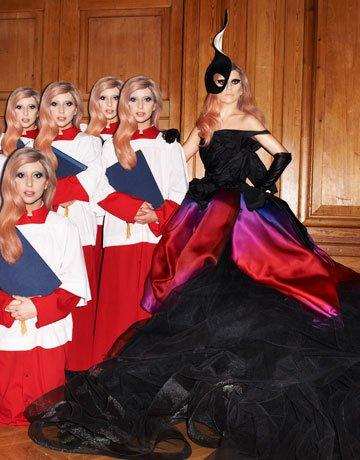 HBZ lady gaga 0511 1 de Lady Gaga Channels Alexander McQueen and Mind Control