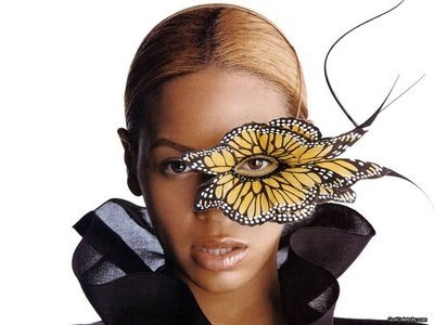 beyonceand the butterfly Lady Gaga Channels Alexander McQueen and Mind Control