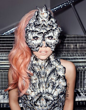 lady gaga horns permanent. Lady Gaga Channels Alexander McQueen and Mind Control