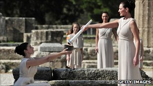 London 2012: The Olympic torch relay and Prometheus