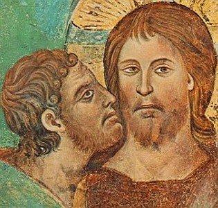 """judas betrays jesus1 Lady Gaga's """"Judas"""" and the Age of Horus"""