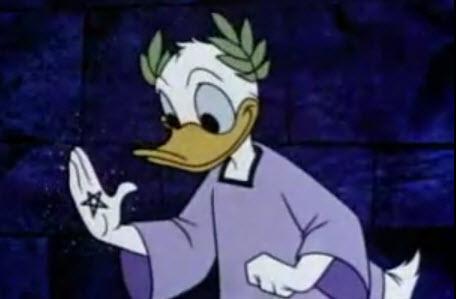 Donald Duck In Mathmagic Land Worksheet - Sheet Print