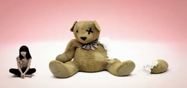 The symbol of a teared up teddy bear sometimes utilized by mass media in ...