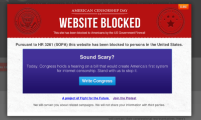 SOPA or How to Use Copyright as an Excuse to Censor the Internet