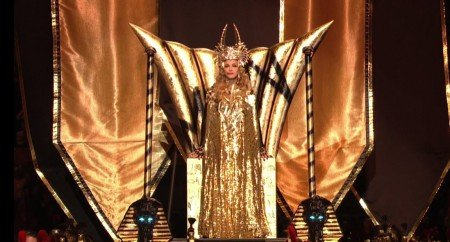 madonna1 e1328544321290 Madonna's Superbowl Halftime Show: A Celebration of the Grand Priestess of the Music Industry