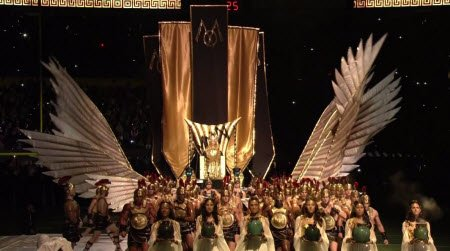 ... Madonna's glorious entrance is a reflection of her status in the ...