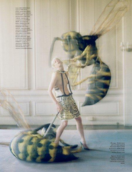 19love magazine tim walker 2012 kristen mcMenamy e1330622164231 Symbolic Pics of the Month (03/12)