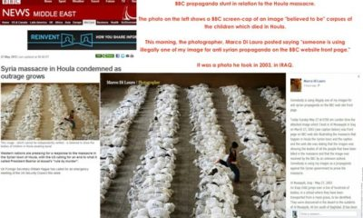 280512shot12 BBC Uses a 2003 Picture from Iraq to Incite War Against Syria