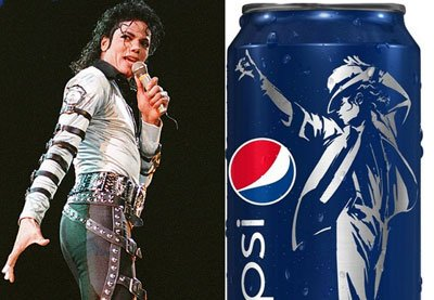 "Michael Jackson to Be ""Ressurected"" on a Billion Pepsi Cans"