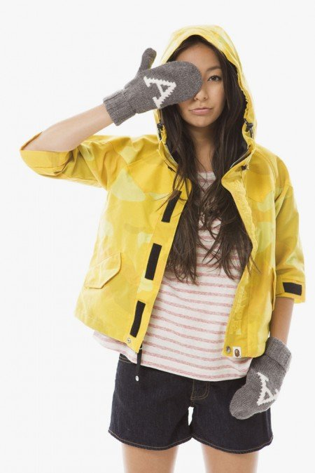 Symbolic Pics of the Month a bathing ape ladies 2012 fallwinter lookbook 2 e1341328217573