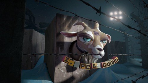 """The Esoteric Symbolism of the Viral Video """"I, Pet Goat II"""". By VC 