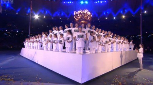 closing7 e1345130642927 The Occult Symbolism of the 2012 Olympics Opening and Closing Ceremonies