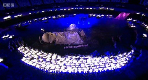 opening10 e1345053215204 The Occult Symbolism of the 2012 Olympics Opening and Closing Ceremonies