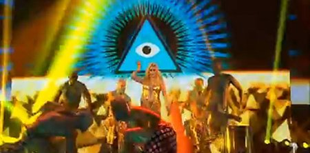 Ke$ha's Performance at X Factor Australia: In Your Face Illuminati Symbolism