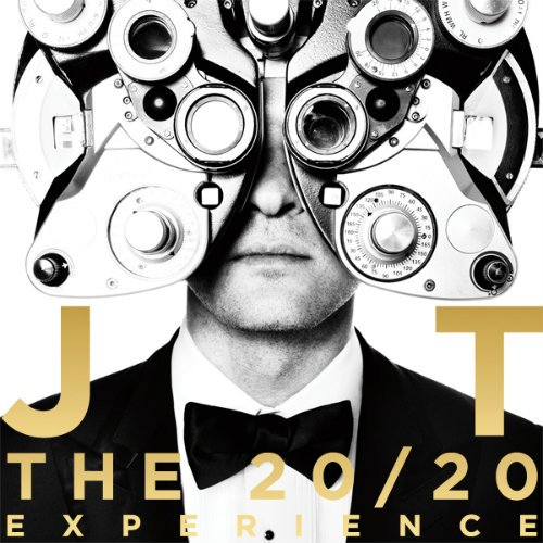 Another important part of the Grammy's: Justin Timberlake. Here's his new album cover featuring a clever way of displaying the one-eyed sign.