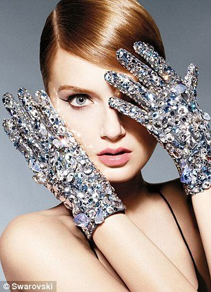 Speaking of wich, here's a commercial for Swarovsky featuring the one-eye sign.