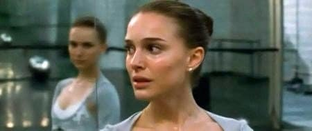 A scene from the movie Black Swan, which contains a lot of the same elements.