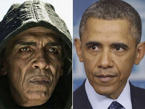 History Channel's miniseries The Bible created quite a stir when its depiction of Satan strangely resembled Obama. I cannot lie and say that I originally thought the same thing. I am not sure if this was intentional. However, from what I saw from this series, I can say that it is quite terrible. It presents a dumbed-down, bastardized and deformed version of the Bible to fit the elite's Agenda. I mean, where in the Bible does it say that ninja-killer-angels came down in Sodom to kill everyone?