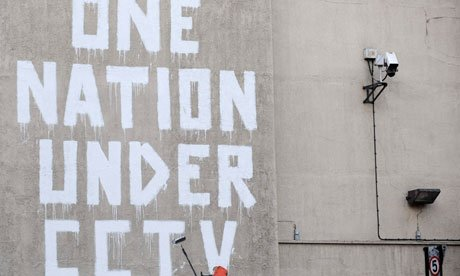 File photo of street graffiti by elusive graffiti artist Banksy in central London