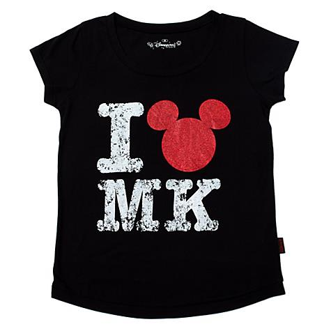 "Speaking of Mickey, here's a shirt sold at the Disney store. ""I love MK""? As in MK Ultra? (As you might know, Mickey Mouse ears are a symbol of mind control)."