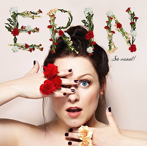 Finnish singer Erin also had the urge of doing this right on her platinum-selling album cover. Thought Finland was safe from this? Nope.