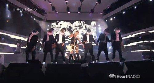 "Ke$ha's iHeartRadio ""Pool Party"" Performance: An Overload of Illuminati Symbolism"