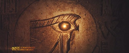 During the movie we see a documentary about The Eye which states that it originates from Ancient Egypt.