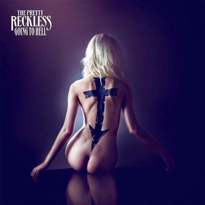 Her album cover features a cross pointing towards her buttocks, going along with the anti-religion agenda in mass media. Yup. That's what you need to do to be an Illuminati puppet.