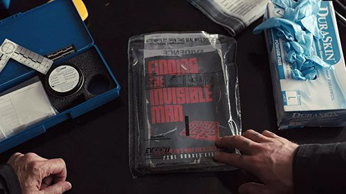 "At Bob's house, Loki examines a book called ""Finding the Invisible Man"" which was written by an ex-FBI agent."