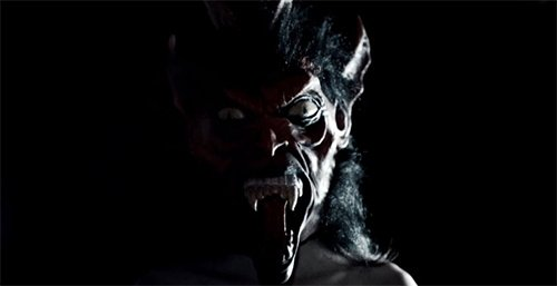 This scary devil face flashes for a spit second. Why is it there? While the conscious mind does not perceive that face, the unconscious mind registers it, causing the viewers to get a growing unconscious unsettling feeling while watching the video.