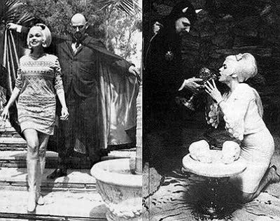 Pictures of Jaynes Mansfield with Anton LaVey