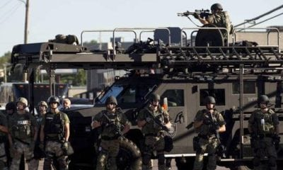 Ferguson : Proof That America is Turning Into a Militarized Police State