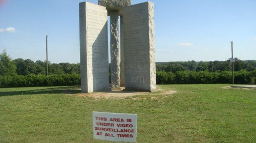 "Strange New ""2014"" Addition to the Georgia Guidestones (Updated)"
