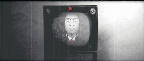 Lil Wayne's face on TV lets you know that your TV shows and music videos are used to promote the dictatorship.