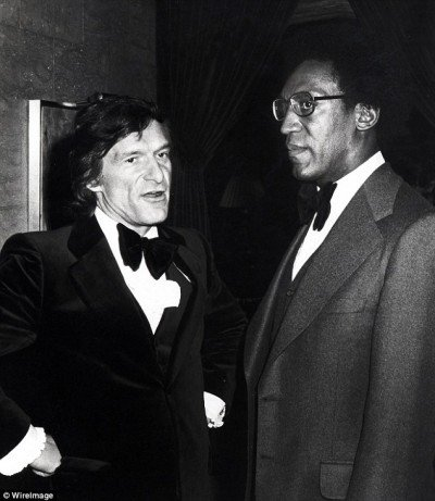 Bill Cosby and Hugh Hefner (a leading men in the world of Kitten Programming) have been friends for decades.