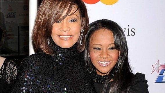 """leadbobbi 1 Whitney Houston's Daughter Found Unconscious in Bathtub, Now in """"Medically Induced Coma"""""""
