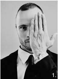 Yes, this one-eye salute giving Pistorius.